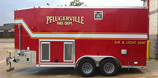 Pflugerville Fire Department Support Air Truck 241