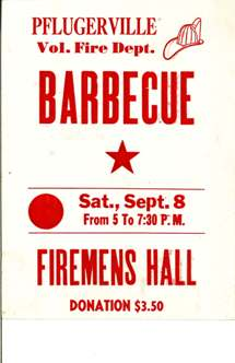 Pflugerville Fire Barbecue Poster