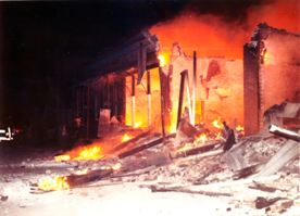 Pflugerville Fire Downtown 1971