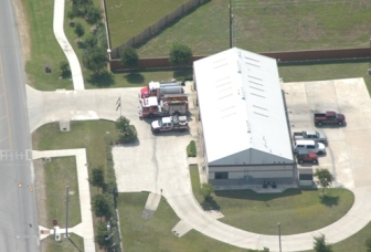 Pflugerville Fire Department Station 3 Arial